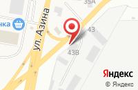 Схема проезда до компании ИжМотоМаркет в Пирогово