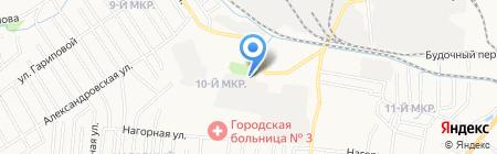 ШиКо на карте Ижевска
