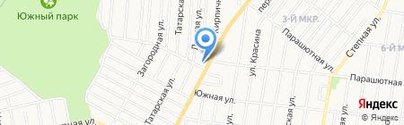 Ижевская соборная мечеть на карте Ижевска