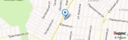 Детский сад №107 на карте Ижевска