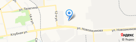 Банкомат Райффайзенбанк на карте Ижевска