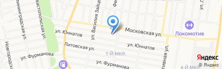Чистый дом на карте Ижевска