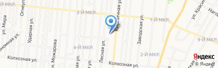 Удмуртский республиканский социально-педагогический колледж на карте Ижевска