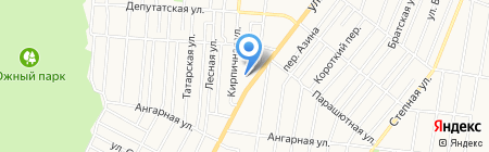 18 RUS на карте Ижевска