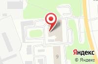 Схема проезда до компании Эдельвейс в Ижевске