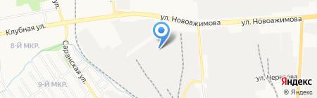 ГаражСтрой на карте Ижевска