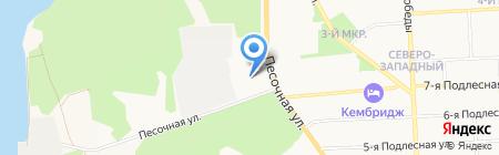 Министерство строительства на карте Ижевска