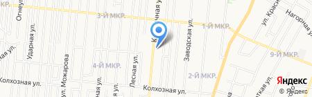 РИЧ на карте Ижевска