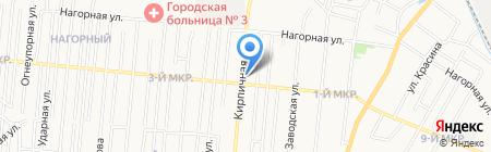 Быстродом на карте Ижевска