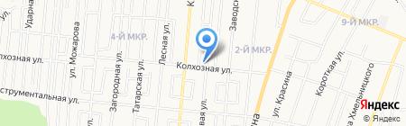 Полевой на карте Ижевска