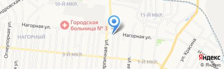 Бархат на карте Ижевска