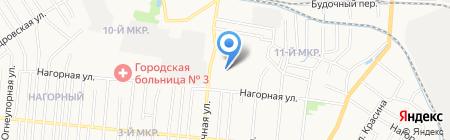 Участковый пункт полиции №5 на карте Ижевска