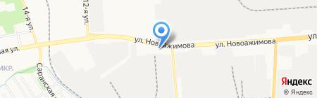 Ижмашэнергосервис на карте Ижевска