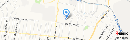 Детский сад №37 на карте Ижевска