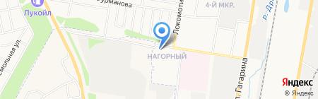 Олимп на карте Ижевска