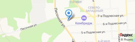Детская школа искусств №4 на карте Ижевска