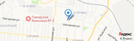 Детский сад №247 на карте Ижевска