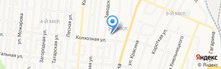Детский сад-ясли №84 на карте Ижевска