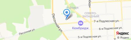 Центр корпоративных решений на карте Ижевска