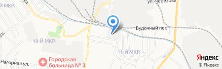Оконный профиль на карте Ижевска