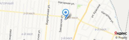 Детский сад №4 на карте Ижевска