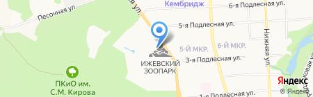 Искусство камня на карте Ижевска