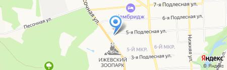 Ижевская управляющая компания на карте Ижевска