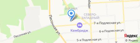 Скорошвейка на карте Ижевска