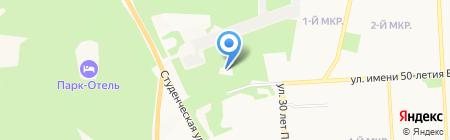 Республиканский госпиталь для ветеранов войн на карте Ижевска