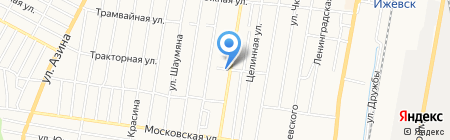 Алмаз на карте Ижевска