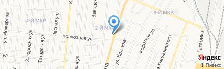 АвтоБис на карте Ижевска