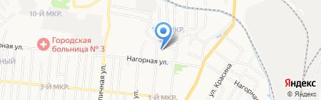Детский сад №215 на карте Ижевска