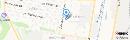 Садовый рай на карте Ижевска