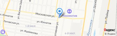 Удмуртская строительная корпорация на карте Ижевска