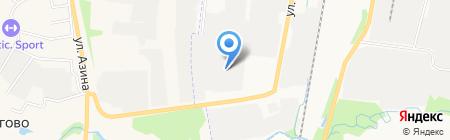 АлАнД на карте Ижевска