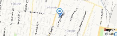 Фартовый на карте Ижевска