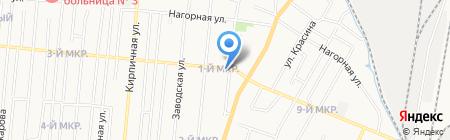 Магазин зоотоваров на карте Ижевска