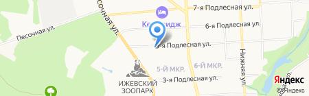 Центр социальной помощи семье и детям Октябрьского района на карте Ижевска