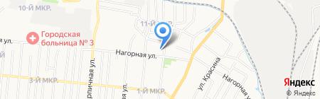 Тепло плюс на карте Ижевска