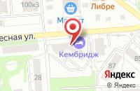 Схема проезда до компании Символ в Ижевске