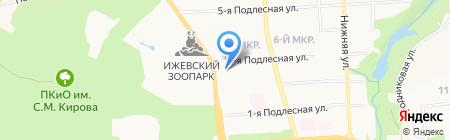Гражданский контроль на карте Ижевска
