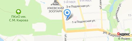 Управление имущественных отношении Администрации г. Ижевска на карте Ижевска