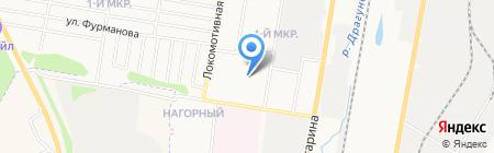 Детский сад №281 на карте Ижевска