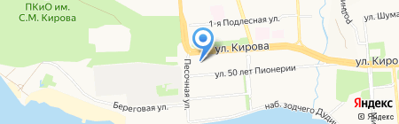 Блеск на карте Ижевска