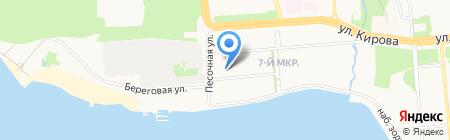 Адвокатский кабинет Серкова Н.Б. на карте Ижевска