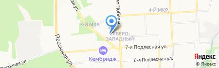 Везётка на карте Ижевска