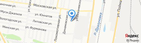 Детский сад №250 на карте Ижевска