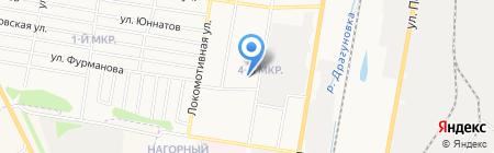 Детская школа искусств №6 на карте Ижевска