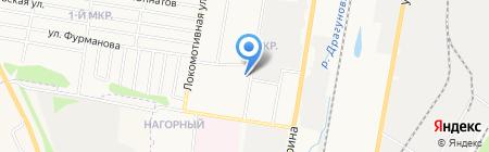 Магазин хлебобулочных изделий на карте Ижевска