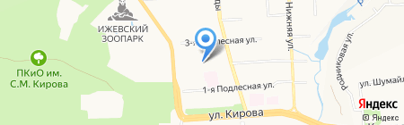 Вертикаль на карте Ижевска